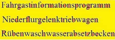 съставни немски думи