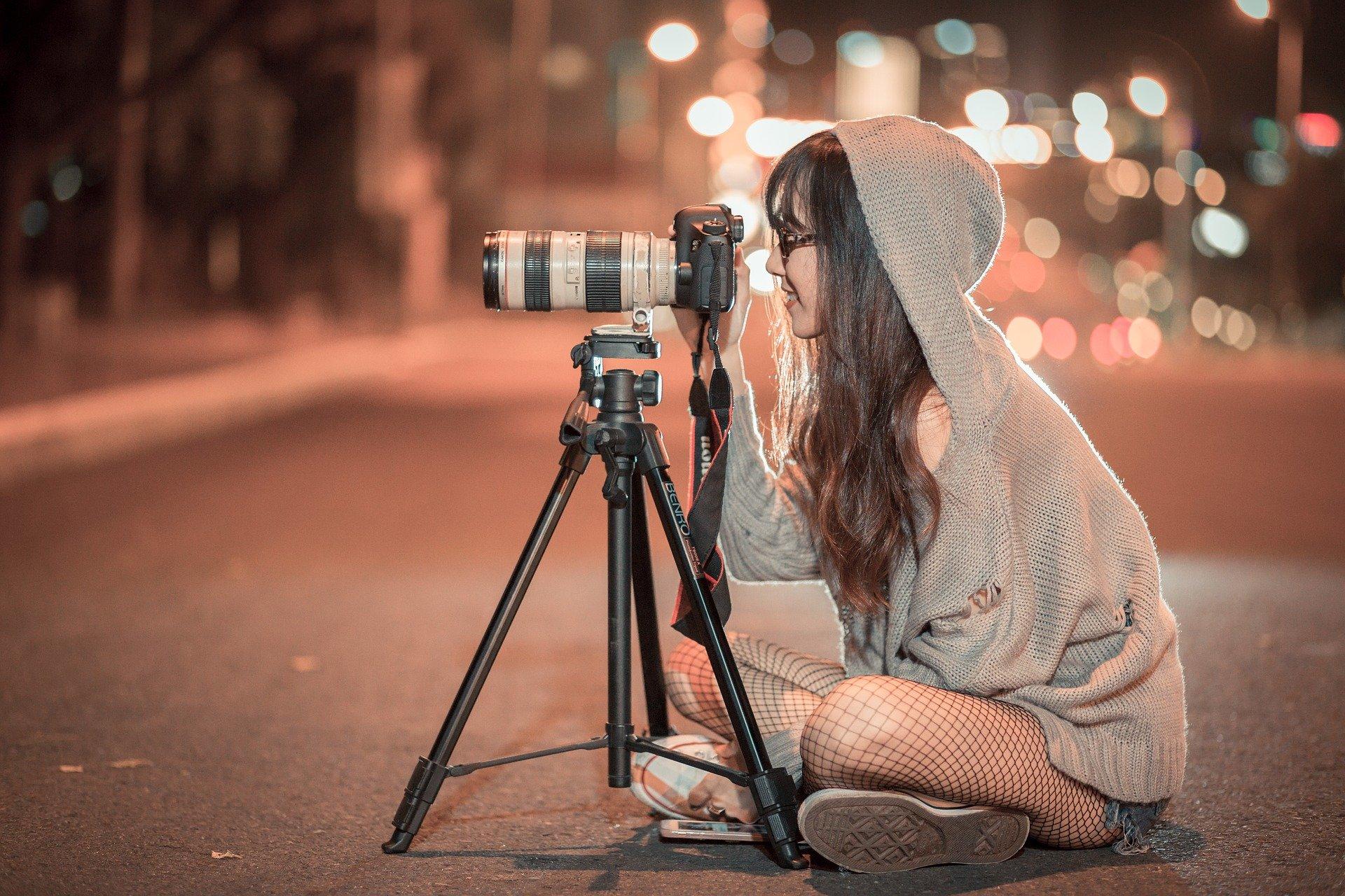 Записване за курс по фотография.